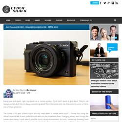Australian Review: Panasonic Lumix LX100 - Retro chic