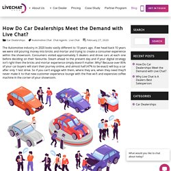 Why Australian Auto Dealers Should Use Live Chat Online