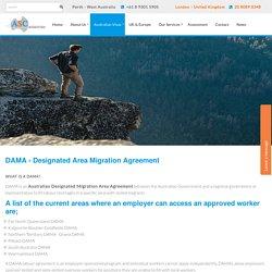 Australian Designated Migration Area Agreement - ASC Migration