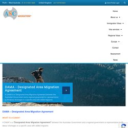Australian Designated Area Migration Agreement