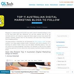 Top 11 Australian Digital Marketing Blogs to follow - QL Tech