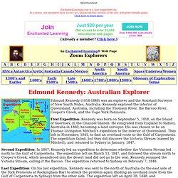 Edmund Kennedy: Australian Explorer