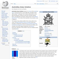 Australian Army Aviation