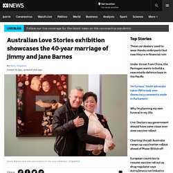 Australian Love Stories exhibition showcases the 40-year marriage of Jimmy and Jane Barnes