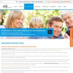 Australian Family Visa UK - Australian Parent Visa in UK - ASC Migration