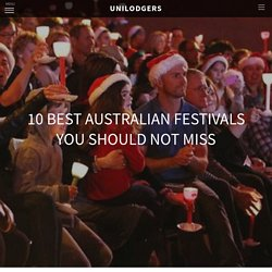 10 Best Australian Festivals You Should Not Miss - The Story