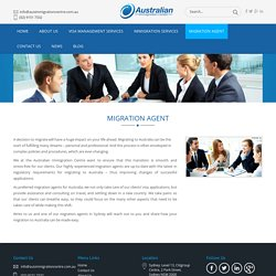 Migration Agents in Sydney, Australia - Australian Immigration Centre
