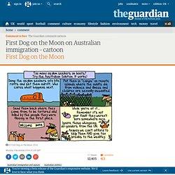 First Dog on the Moon on Australian immigration – cartoon