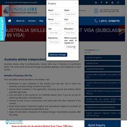 Australia skilled independent visa subclass 189 visa - Best Immigration Consultants