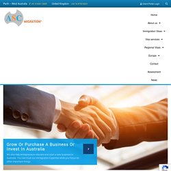 Australian Business Visas for UK citizens - ASC Migration Visas