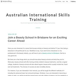 Join a Beauty School in Brisbane for an Exciting Career Ahead - Australian International Skills Training