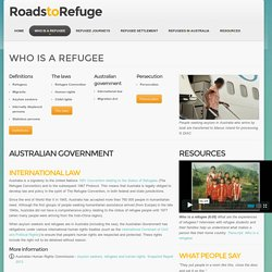 Refugees and the Australian Government - International law & Migration Act
