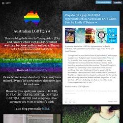 Australian LGBTQ YA