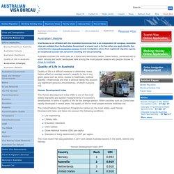 Australian Lifestyle - Australian Visa Bureau