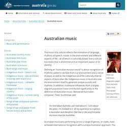 Australian music
