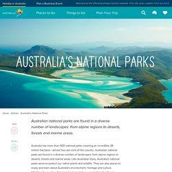Australian National Parks – Tourism Australia