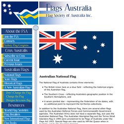 Australian National Flag and Other Flags of Australia