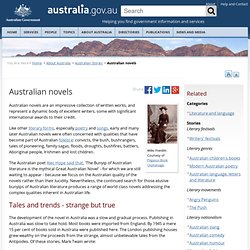 Australian novels