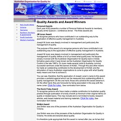 Australian Quality Awards