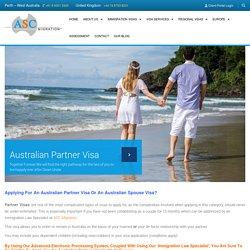 Apply for an Australian Partner Visa in UK, Partner Visas for Australia in UK