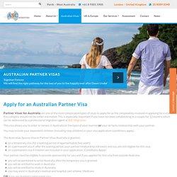 Australian Spouse Visa:Apply for an Australian Partner Visa in UK - ASC Migration