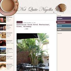 Australian Youth Hotel Restaurant, Glebe