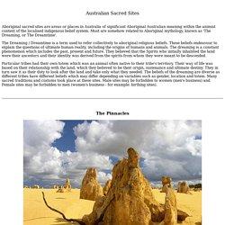 Australian Sacred Sites