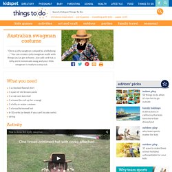 Australian swagman costume