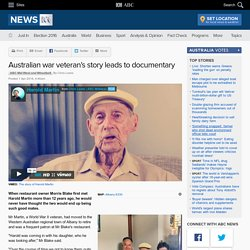 Australian war veteran's story leads to documentary