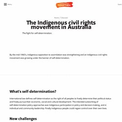 The Indigenous civil rights movement in Australia