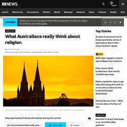 What Australians really think about religion