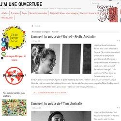 Australie Archives - J'AI UNE OUVERTURE