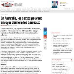 En Australie, les sextos peuvent envoyer derrière les barreaux