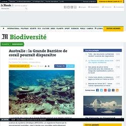 Australie : la Grande Barrière de corail pourrait disparaître