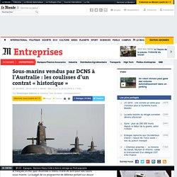 Le français DCNS remporte un contrat géant de 34milliards d'euros pour des sous-marins