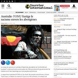 Australie: l'ONU fustige le racisme envers les aborigènes