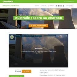 Australie : accro au charbon - Greenpeace Film Festival
