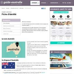 Australie : fiche d'identité, carte et drapeau d'Australie