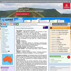 Australie : Carte d'identité