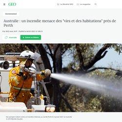 """4 jan. 2021 Australie: un incendie menace des """"vies et des habitations"""" près de Perth - Geo.fr"""