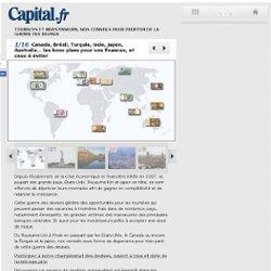 Canada, Brésil, Turquie, Inde, Japon, Australie... les bons plans pour vos finances, et ceux à éviter - Touristes et investisseurs, nos conseils pour profiter de la guerre des devises