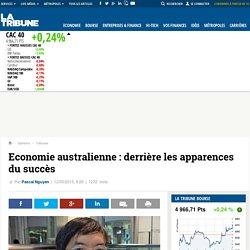 Economie australienne: derrière les apparences du succès