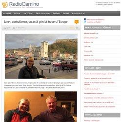 Janet, australienne, un an à pied à travers l'Europe par RadioCamino