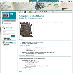 Dagobert 1er ROI D'AUSTRASIE 629 - ROI des Francs