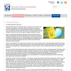 Humor und Krebs - Europa Donna Austria - Netzwerk Brustkrebs