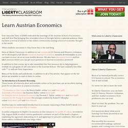 Learn Austrian Economics | Tom Woods