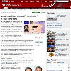 Austrian driver's religious headgear strains credulity