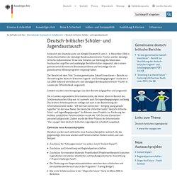 Deutsch-britischer Schüler- und Jugendaustausch