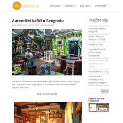 Autentični kafići u Beogradu