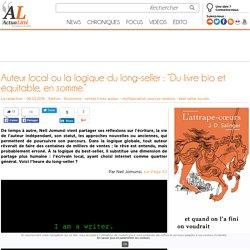 """Auteur local ou la logique du long-seller : """"Du livre bio et équitable, en somme."""""""